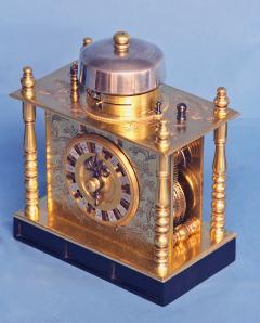 Mid 19th Century Japanese Bracket Clock with Original Case - 1184118