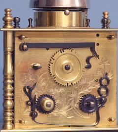 Mid 19th Century Japanese Bracket Clock with Original Case - 1184120