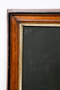Mid 19th Century Lincoln Portrait Painting on Glass - 2073982