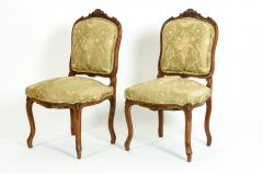 Mid 19th Century Mahogany Wood Frame Side Chairs - 1128547