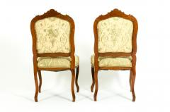 Mid 19th Century Mahogany Wood Frame Side Chairs - 1128551