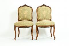 Mid 19th Century Mahogany Wood Frame Side Chairs - 1128554