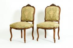 Mid 19th Century Mahogany Wood Frame Side Chairs - 1128557
