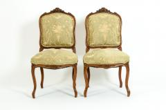 Mid 19th Century Mahogany Wood Frame Side Chairs - 1128559