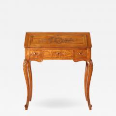 Mid 19th Century Slant Top Ladies Writing Desk - 1574868