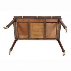 Mid 19th Century Victorian Mahogany Writing Table From Windsor Castle - 1532286