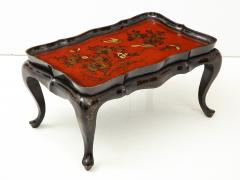 Mid 20th Century Chinoiserie Tray Top Cocktail Table - 913921