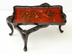 Mid 20th Century Chinoiserie Tray Top Cocktail Table - 913929