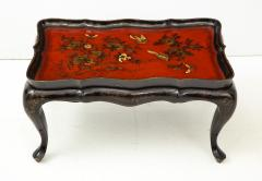 Mid 20th Century Chinoiserie Tray Top Cocktail Table - 913931