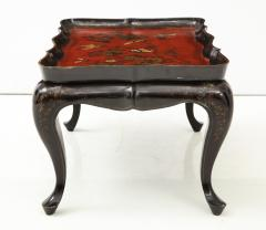 Mid 20th Century Chinoiserie Tray Top Cocktail Table - 913933