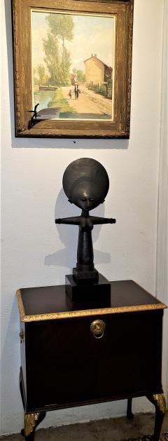 Mid 20th Century Ghanayan Akuba Fertility Doll - 1660531