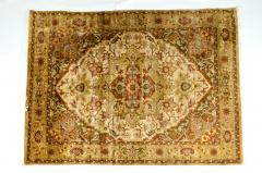 Mid 20th Century Hand Knotted Silk Area Rug - 1169175