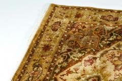 Mid 20th Century Hand Knotted Silk Area Rug - 1169179
