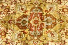 Mid 20th Century Hand Knotted Silk Area Rug - 1169180