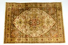 Mid 20th Century Hand Knotted Silk Area Rug - 1169181