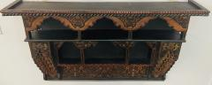 Mid 20th Century Moroccan Wall Shelf or Spice Rack - 1638889