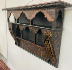 Mid 20th Century Moroccan Wall Shelf or Spice Rack - 1638895