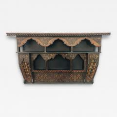 Mid 20th Century Moroccan Wall Shelf or Spice Rack - 1705467
