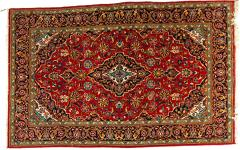 Mid 20th Century North American Hand Knotted Wool Rug - 1169219