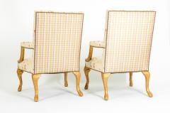 Mid 20th Century Pair of Giltwood Frame George II Style Armchairs - 1131524