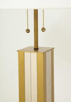 Mid 20th Century Polished Brass Lamp - 899337