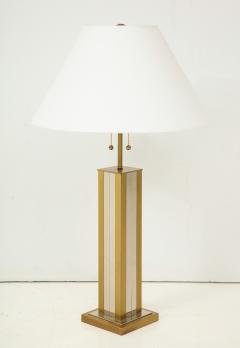 Mid 20th Century Polished Brass Lamp - 899340
