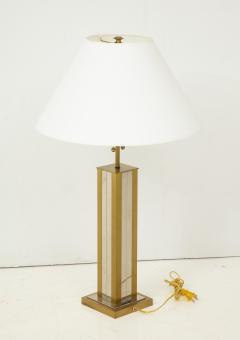 Mid 20th Century Polished Brass Lamp - 899341