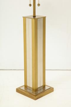 Mid 20th Century Polished Brass Lamp - 899342