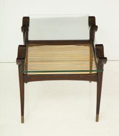 Mid 20th Century Stained Beechwood Two Tiered Cocktail Table - 900062