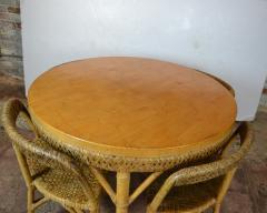 Mid Century Bamboo Dining Set - 1101661