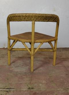 Mid Century Bamboo Dining Set - 1101676