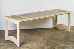 Mid Century Bleached Oak Adjustable Cocktail Table - 1286109