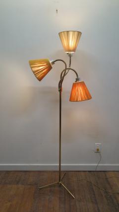 Mid Century Brass Triennale Floor Lamp - 1753991