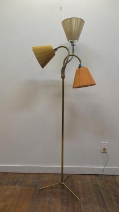 Mid Century Brass Triennale Floor Lamp - 1753992
