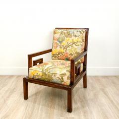 Mid Century Chinese Style Armchair America - 1952118