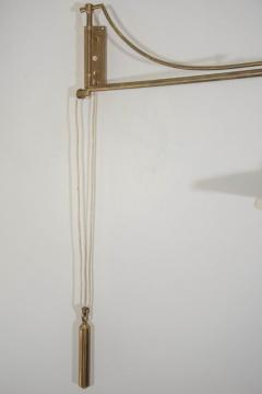 Mid Century Counter Balanced Adjustable Wall Scone - 1047540