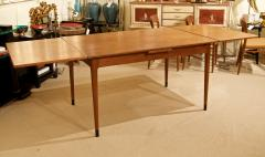 Mid Century Danish Dining Table with Extending Leaves - 1826361