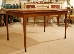 Mid Century Danish Dining Table with Extending Leaves - 1826362