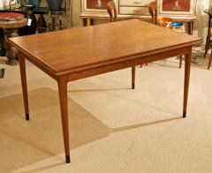 Mid Century Danish Dining Table with Extending Leaves - 1826365