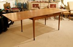 Mid Century Danish Dining Table with Extending Leaves - 1826367