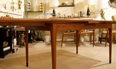 Mid Century Danish Dining Table with Extending Leaves - 1826368