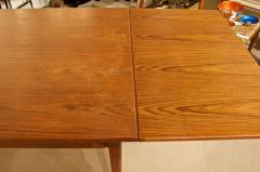 Mid Century Danish Dining Table with Extending Leaves - 1826369