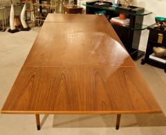 Mid Century Danish Dining Table with Extending Leaves - 1826370