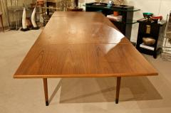 Mid Century Danish Dining Table with Extending Leaves - 1826371