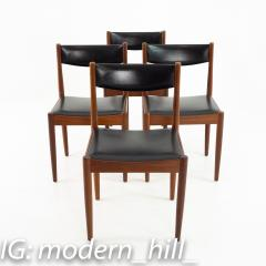 Mid Century Danish Furniture Makers Control Walnut Dining Chairs Set of 6 - 1869852