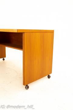 Mid Century Danish Style Teak Writer s Desk - 1869525