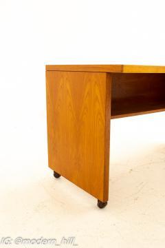 Mid Century Danish Style Teak Writer s Desk - 1869526