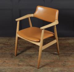 Mid Century Desk Chair in Oak by Erik Kirkegaard - 1991550