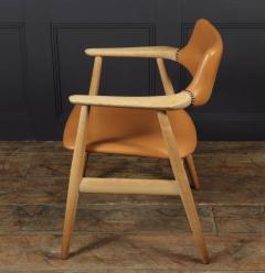 Mid Century Desk Chair in Oak by Erik Kirkegaard - 1991552