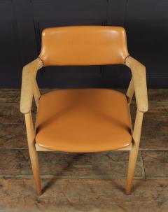 Mid Century Desk Chair in Oak by Erik Kirkegaard - 1991558